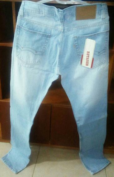 Jeans Juvenil Caballero Talla 28 30 32 34 Y 36