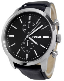 Relógio Fóssil - Modelo Fs4866 - Pulseira De Couro Original