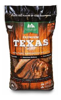 Grilling Pellets 12.70 Kg Texas Blend Para Asadores Ahumador