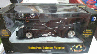 Super Carro Batmovel Batman Returns Controle Remoto Candide