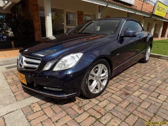 Mercedes Benz Clase E E-200 Cabrio 1.8cct Aa