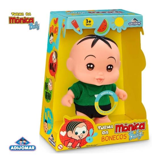 Boneco Cebolinha Turma Da Mônica Baby - 414 Adjomar