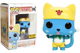Funko Pop! Fairy Tail Swim Time Happy #286 Exclusivo Ht