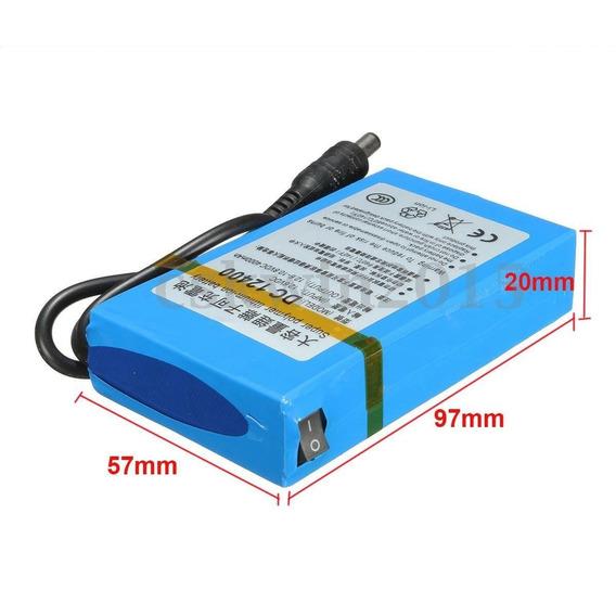 Bateria 12v P/ Transmissor/ Camera Cctv / Camera Xd / B4 2/3