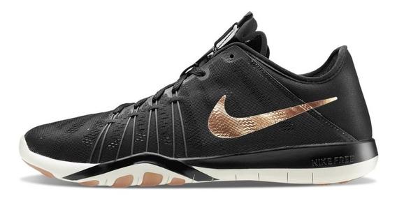 Tênis Nike Free Tr 6 Preto / Rose Gold (tam 38/39)