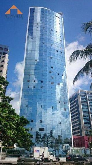 Apartamento Com 4 Quartos Para Alugar, 155 M² Por R$ 11.170/mês Com Taxas - Boa Viagem - Recife/pe - Ap1982