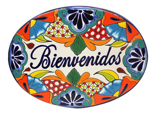 Placa Decorativa Talavera 34x25 Cm Hecho En México