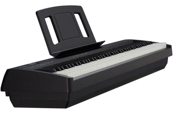 Piano Digital Roland 88 Teclas Fp-10-bk Pedal Sustain Dp-2