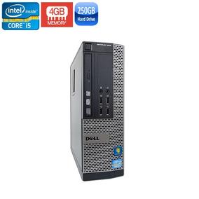 Pc Dell 990 Sff I5-2400 4gb Hd 250gb + Kit Teclado E Mouse