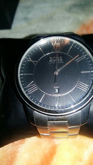 Relógio Hugo Boss Original Todo Em Aço Inoxidável