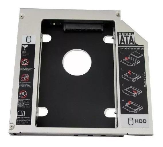Adaptador Dvd P/ Hd Ou Ssd Notebook Drive 9.5mm Sata(5014)