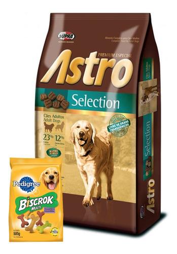 Comida Perro Astro Selection Perro Adulto 15 Kg+ 2kg+regalos