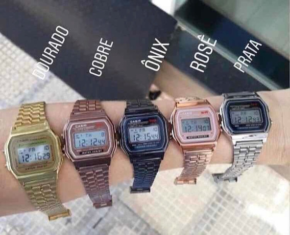 Relógio Casio Vintage Unissex Kit Com 6 Unidades