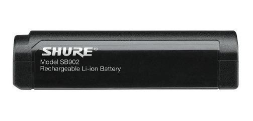 Bateria Shure Sb902 Recarregável