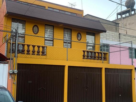 Venta De Casa En Jardín Balbuena, Ret. 12, Cdmx