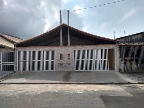 Casa Nova 03 Dormitórios Na Praia Grande R$ 280 Mil