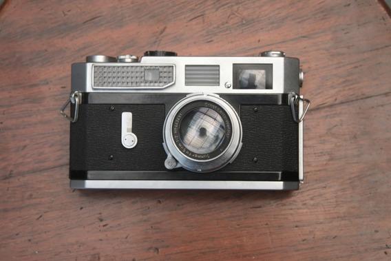 Canon 7 Com Lente Leica Summar 50mm F2