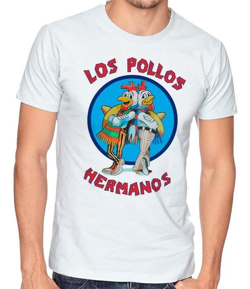 Playera Hombre Niño Breaking Bad Los Pollos Hermanos #679
