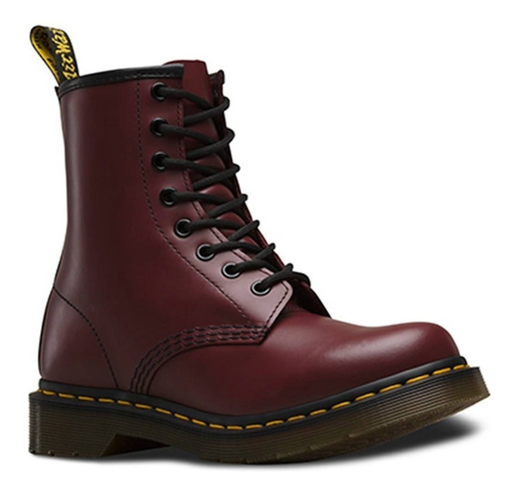 Borcegos Dr Martens 1460 W 8 Eye Boot Cherry Red 11821600