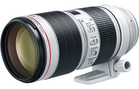 Lente Canon Ef 70-200mm F/2.8l Is Iii Usm (modelo Nova)