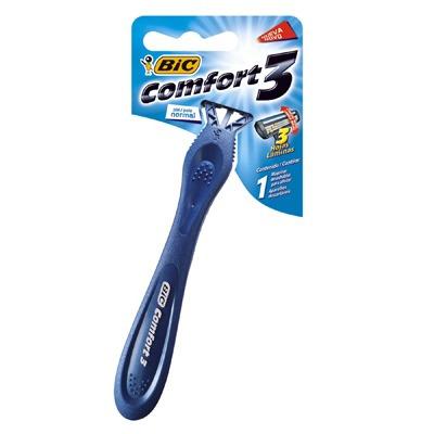 Barbeador Bic Comfort 3 Lâminas C/12 Unidades