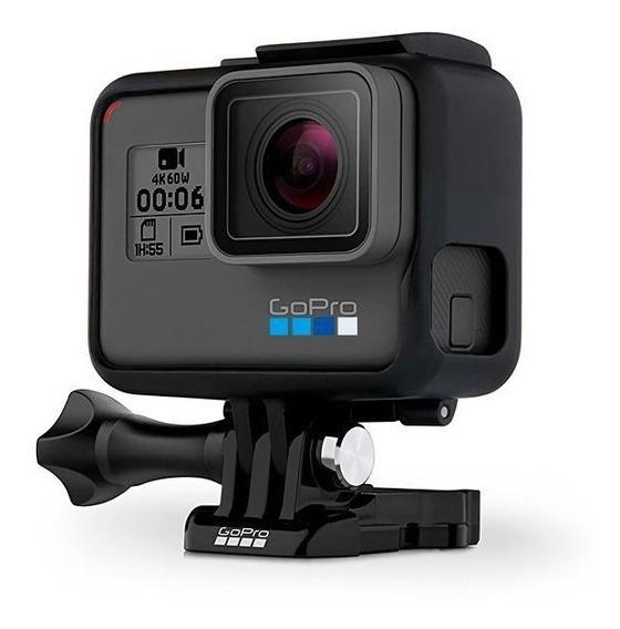 Câmera De Ação Gopro Hero 6 Black Chdhx-601 12mp 4k Wi-fi