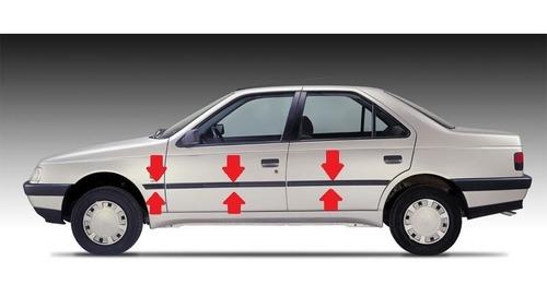 Moldura Lateral Peugeot 405 Bagueta Juego Completo Finitas !