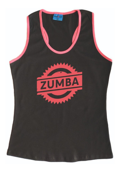 Musculosa Mujer Zumba Modelo 2 Gym Gimnasio Crossfit