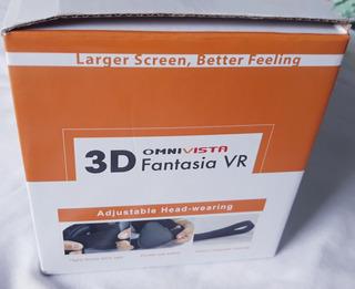 Óculos Vr Realidade Virtual Omnivista Fantasia