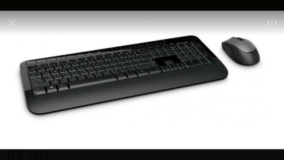 Kit Teclado E Mouse Sem Fio Microsoft 2000