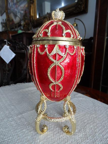 Lindo Potiche Egg - Ao Gosto Fabergè.