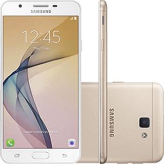 Galaxy J7 Prime G610m 32gb 13mp 4g Tela 5.5 Dourado Vitrine