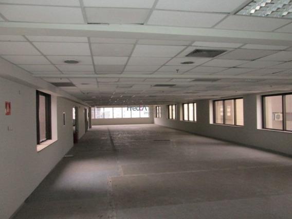 Sala Comercial Com Laje De 412 M2, 10 Vagas De Garagem Na Avenida Paulista - Fa2812