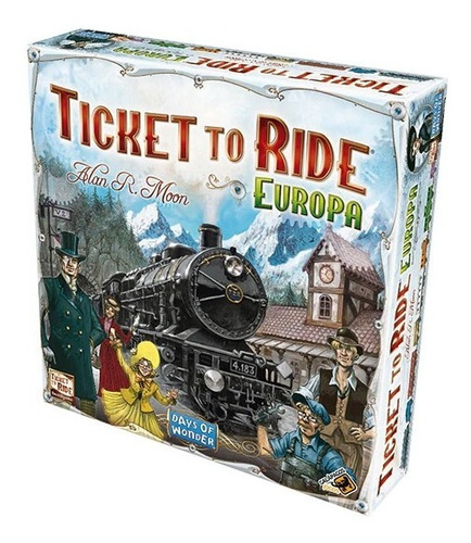 Imagem 1 de 4 de Ticket To Ride Europa Board Game Jogo De Tabuleiro Galápagos