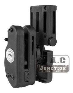 Coldre Universal Saque Rápido Destro Ipsc 360º Gr P/ Pistola