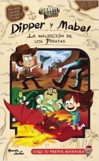 Gravity Falls - Dipper Y Mabel - La Maldicion De Los Piratas
