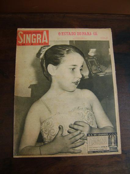 Jornal Antigo Singra - 1958 - N 337 / Capa Luíza Soares