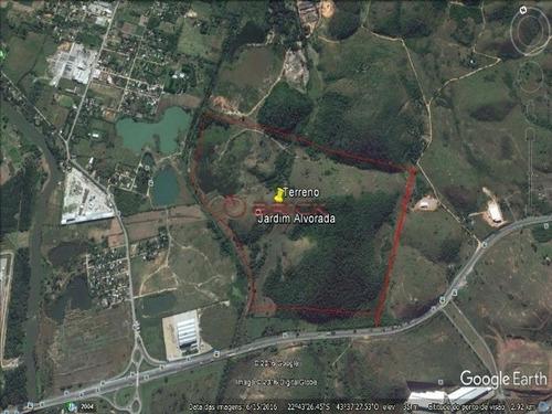 Imagem 1 de 3 de Terreno Com 850 Mil M² Na Zona Industrial E Agrícola De Queimados - Te00311 - 34829672