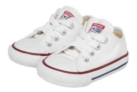 Tênis Allstar Converse Baby Chuck Taylor Bebe 10635 Branco
