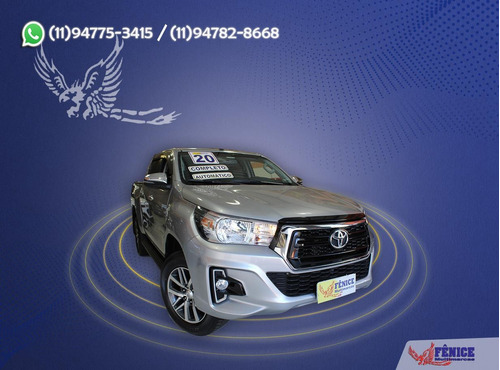Imagem 1 de 12 de Toyota Hilux Cabine Dupla Hilux Cd Srv 4x2 2.7 Flex 16v Aut