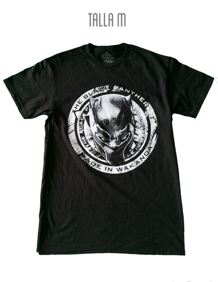 Playera Marvel Black Panter.