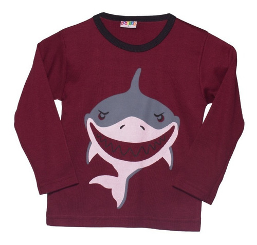 Franela Para Niños Bambino Big Shark