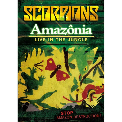 Scorpions Amazônia - Live In The Jungle - Estado De Novo