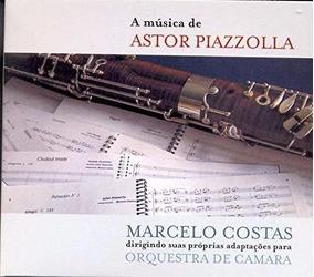 A Musica De Astor Piazzolla Orquestra De Camara [cd Novo]