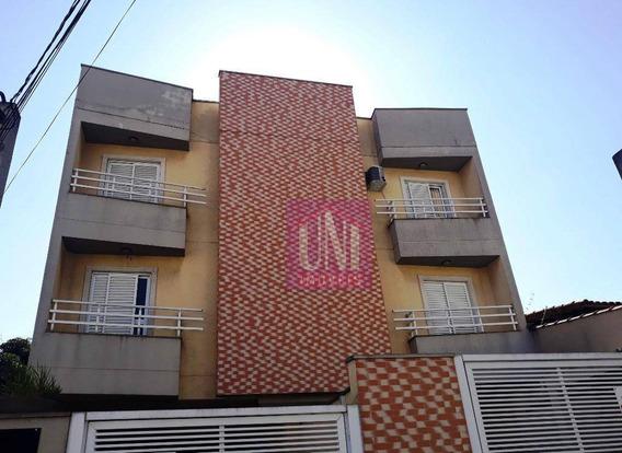 Cobertura Com 2 Dormitórios À Venda, 100 M² Por R$ 395.000 - Parque Das Nações - Santo André/sp - Co0738