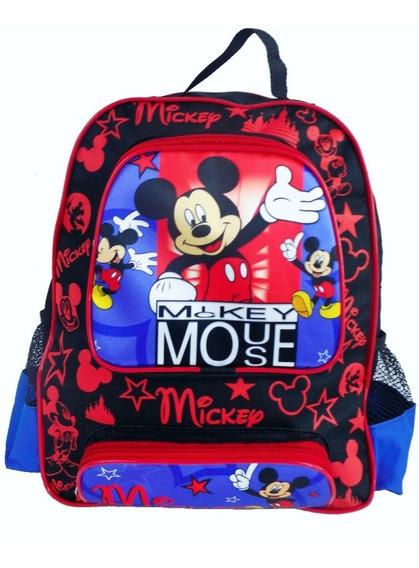 Mochila Grande Costa Sem Rodinha Mickey