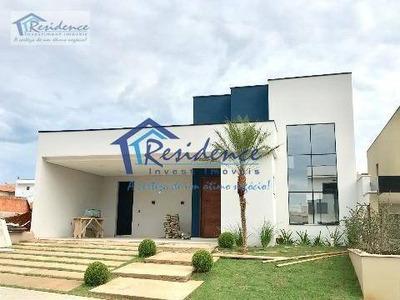 Casa Residencial À Venda, Jardim Residencial Dona Lucilla, Indaiatuba - . - Ca0162