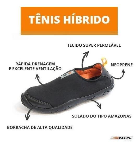 Tênis Híbrido Em Neoprene Solado Amazonas Unissex Nautika