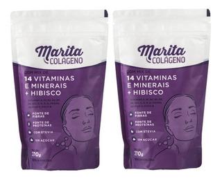 2 Colágeno Marita Hidrolisado Original - Pronta Entrega