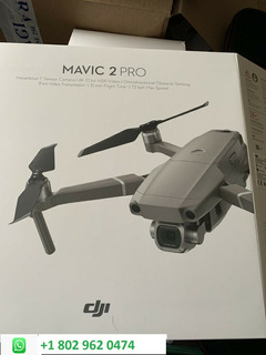 New Dji Mavic 2 Pro Fly More Camera Drone Kit